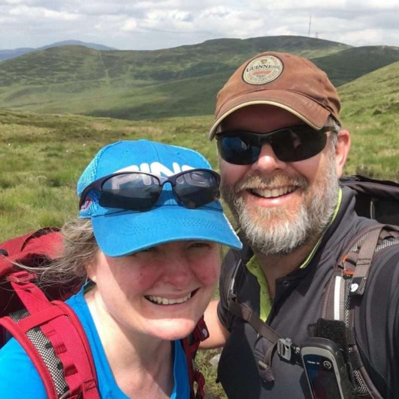 portrait of the owners of Walking Holiday Ireland