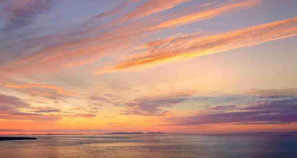 Antrim Rambler sunset Murlough Bay