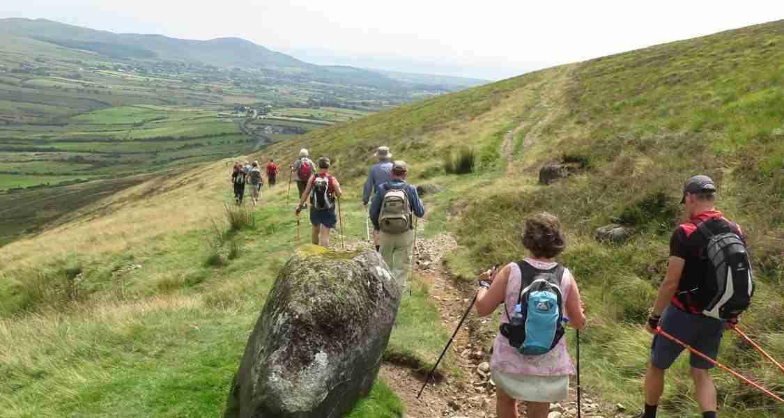 Wandelgroep Cooley Peninsula Oost Ierland