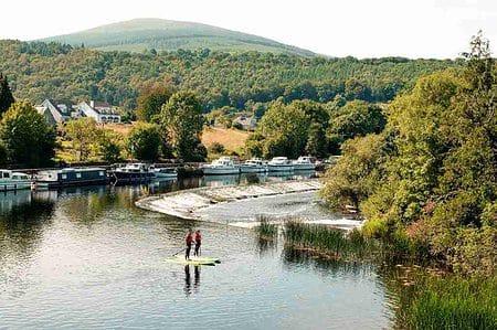 watersport op de Barrow Rivier